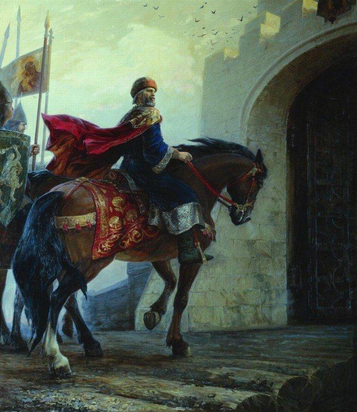 Владимир Мономах у киевских ворот