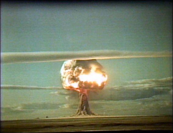Взрыв первого советского термоядерного заряда