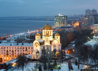Зимняя Самара