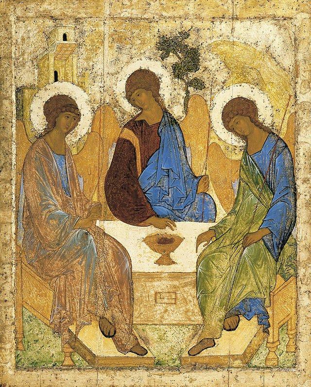 «Икона Троица».