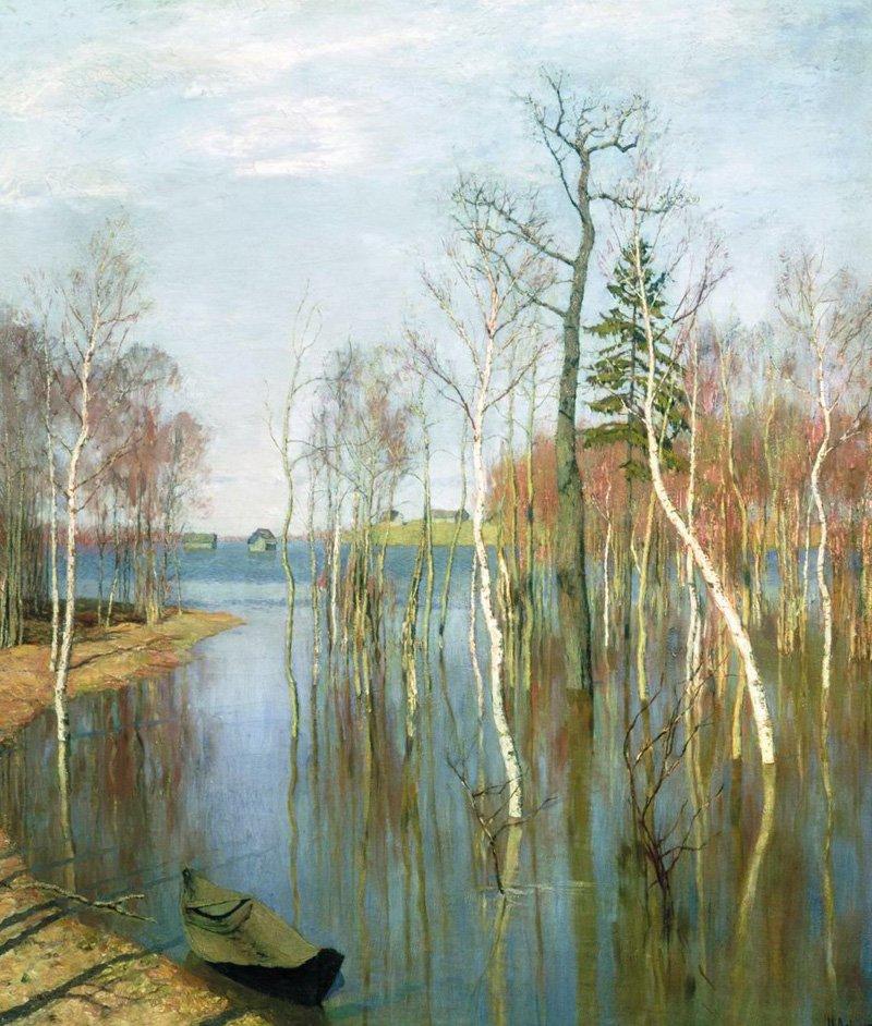 Весна. Большая вода, 1897