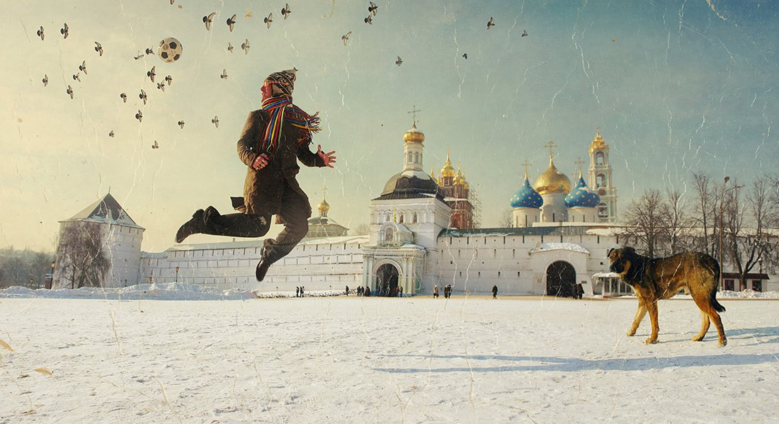ВМЕСТО КИСТЕЙ И ХОЛСТА - ФОТОШОП