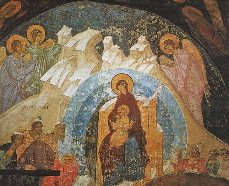 фрески Успенского собора Кремля