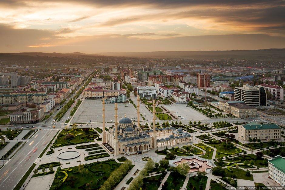 САМАЯ БОЛЬШАЯ МЕЧЕТЬ РОССИИ И ЕВРОПЫ