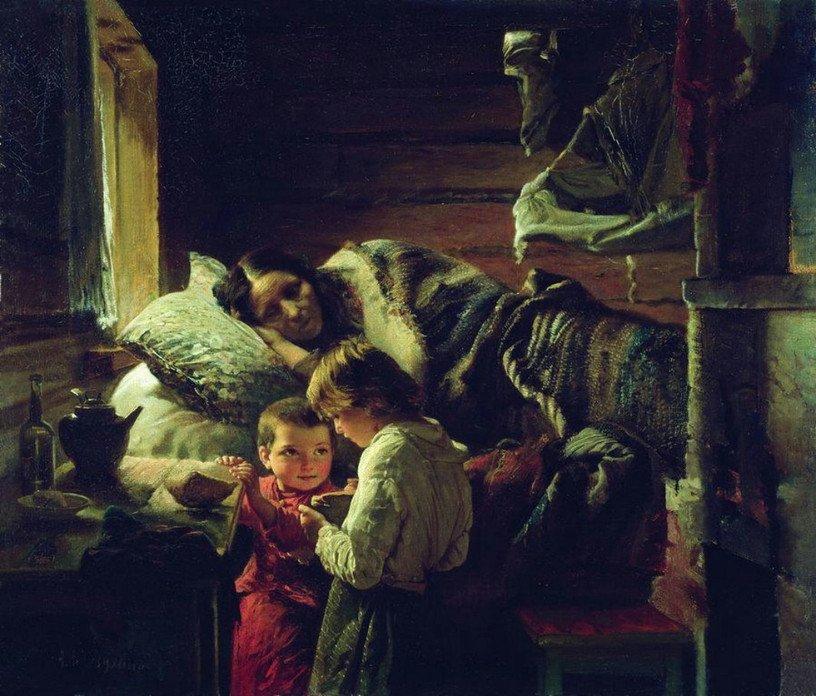 ЗАБЫТЫЕ ИМЕНА - РУССКИЙ ЖИВОПИСЕЦ КОРЗУХИН АЛЕКСЕЙ ИВАНОВИЧ