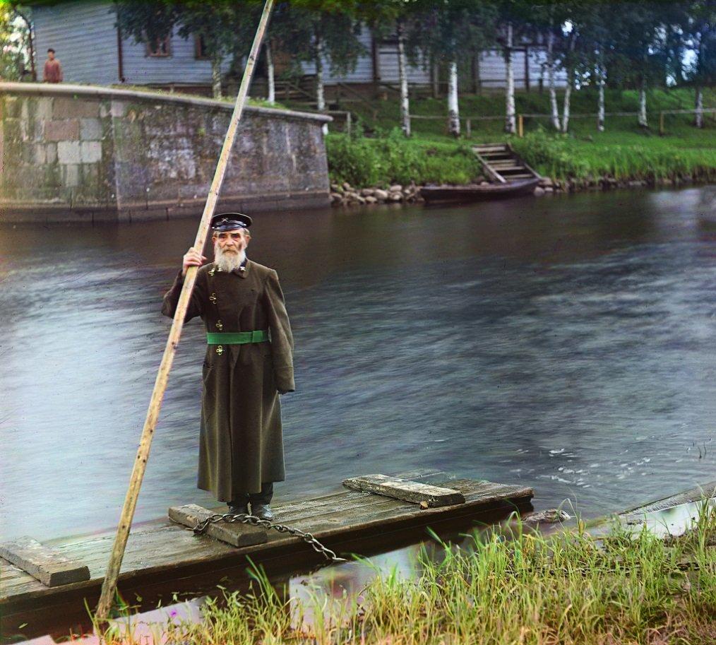 ЛЮДИ В ЦАРСКОЙ РОССИИ - УНИКАЛЬНЫЕ ЦВЕТНЫЕ ФОТОГРАФИИ