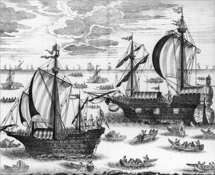 Азовский флот.