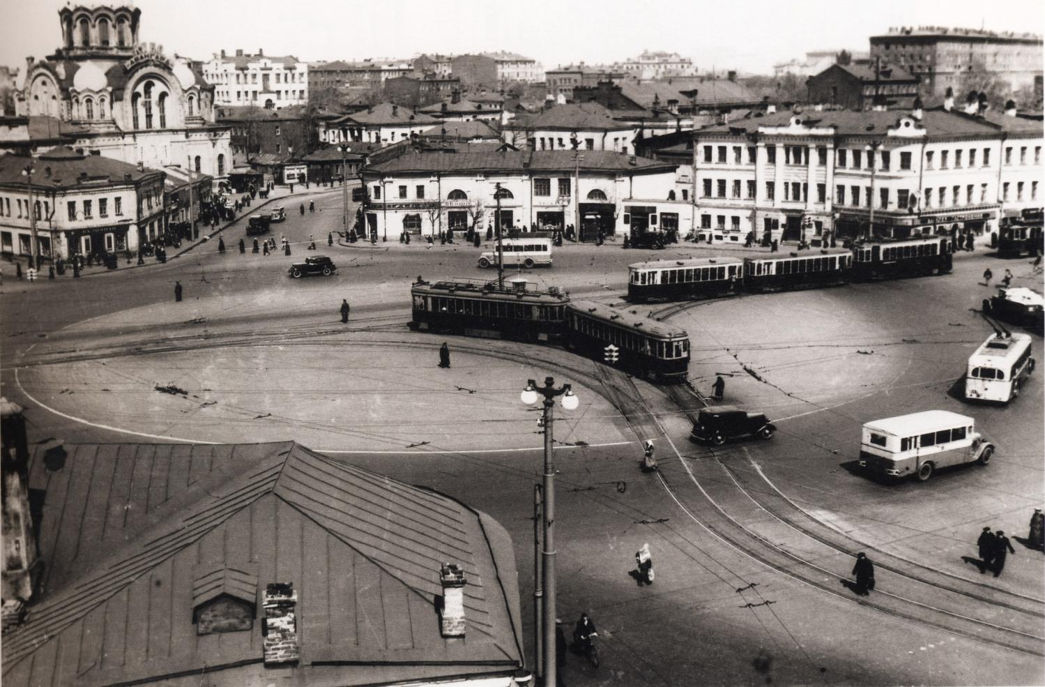 Калужская площадь 1931