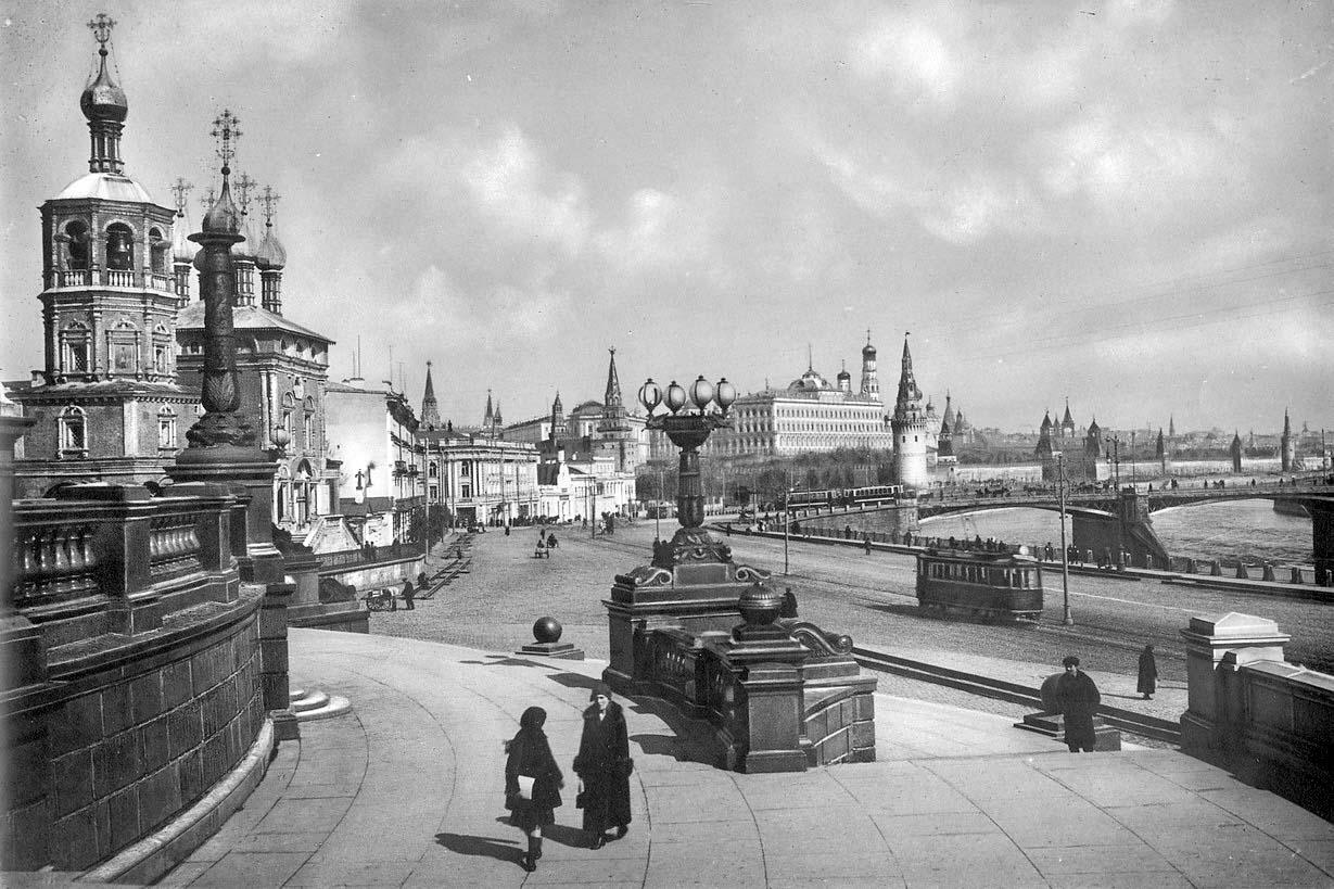 Москва в царское время