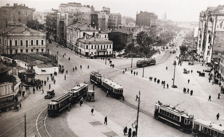 Площадь Красные ворота 1932