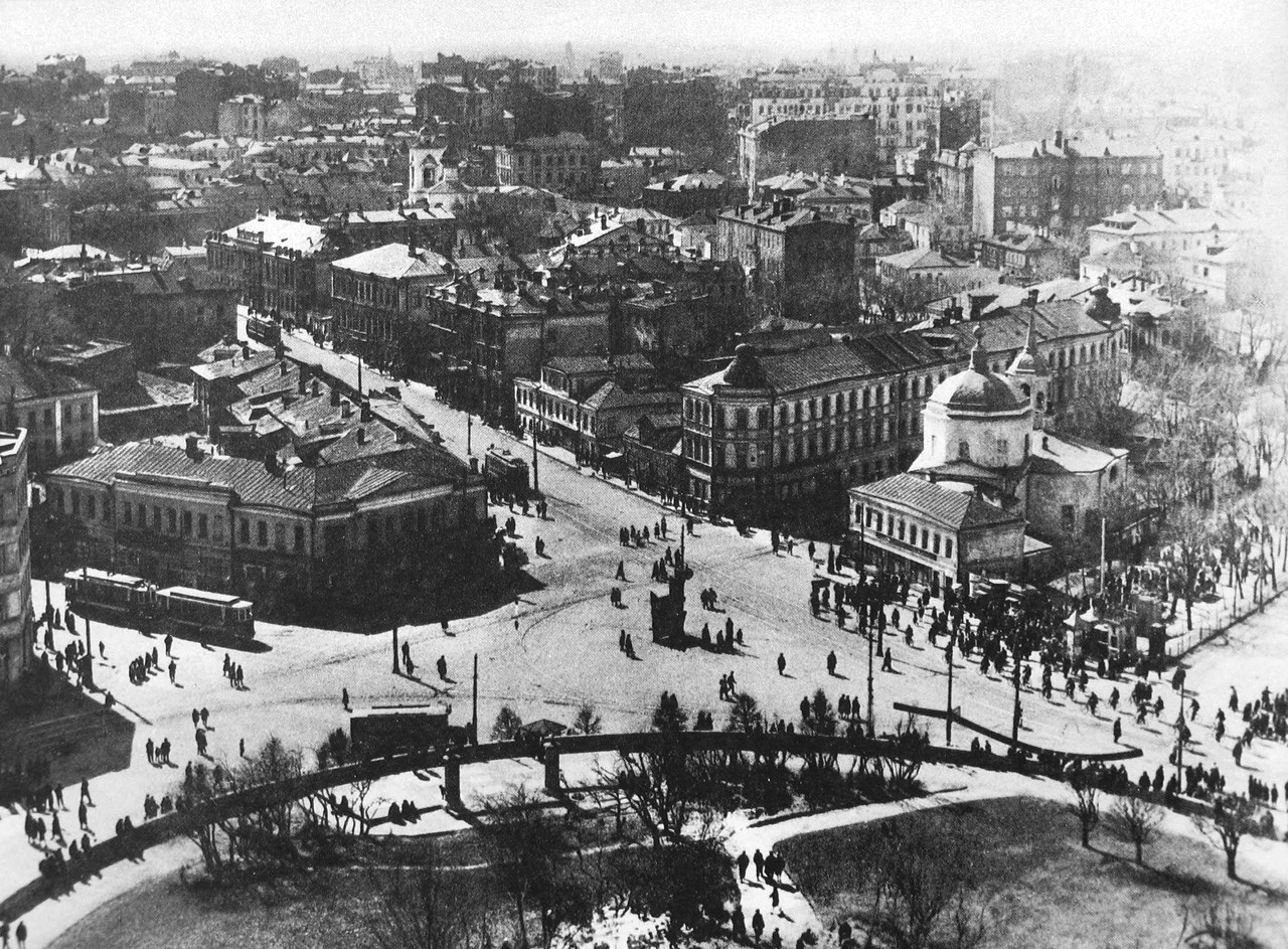 Фото старой москвы хрунинъ 2