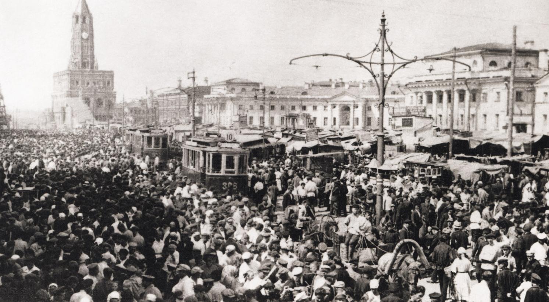Сухаревская башня 1920-е