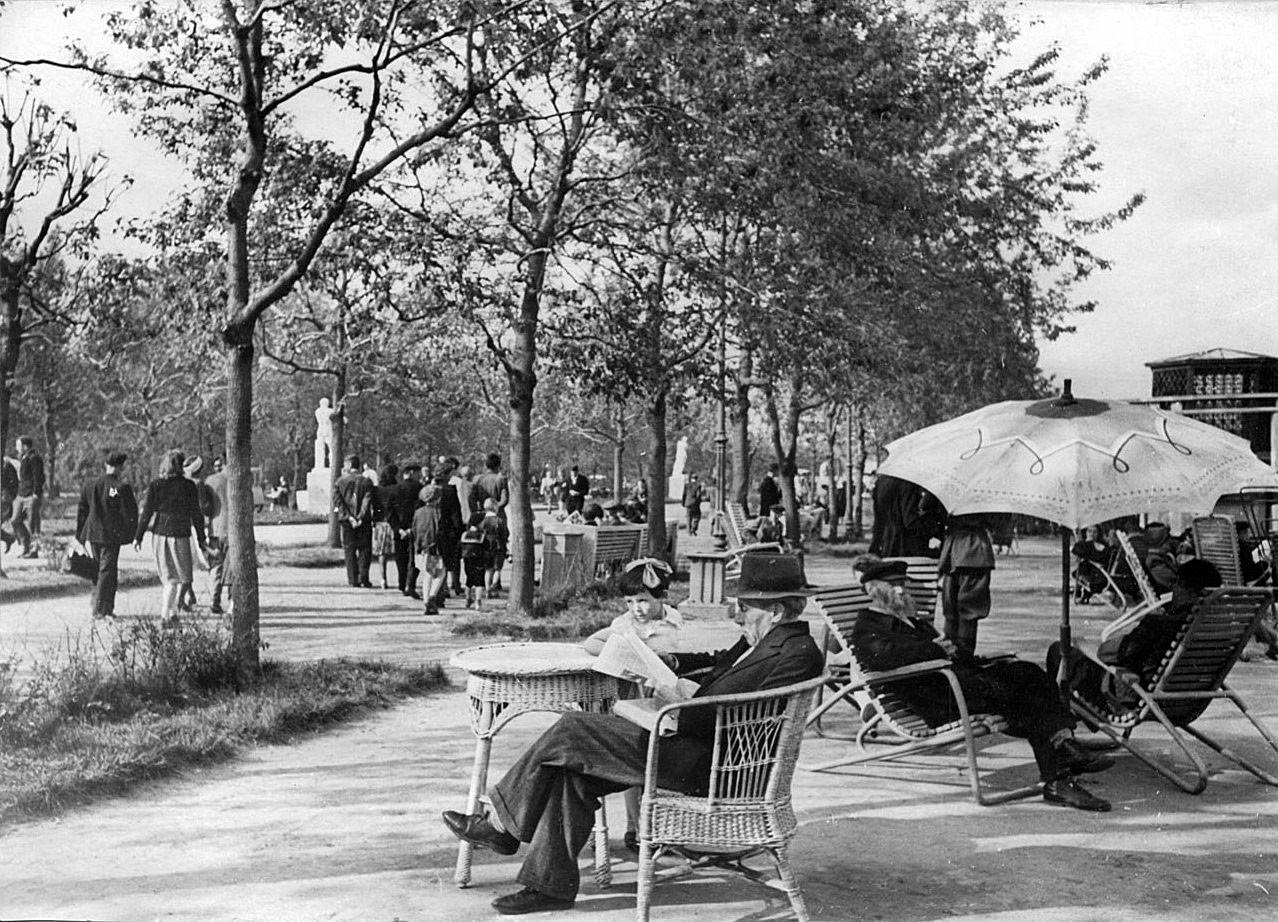 В одном из парков Старой Москвы