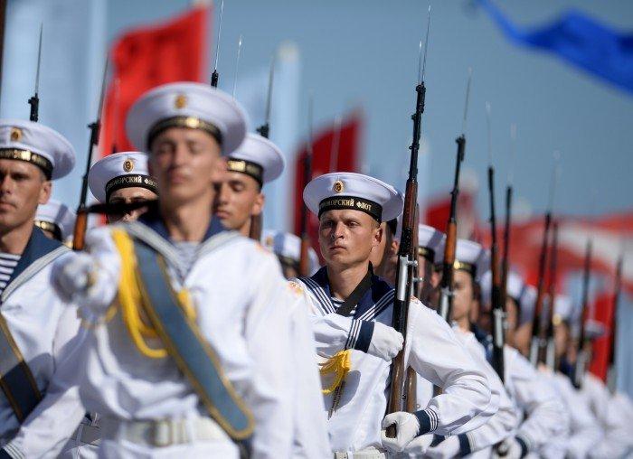 Моряки Черноморского флота.