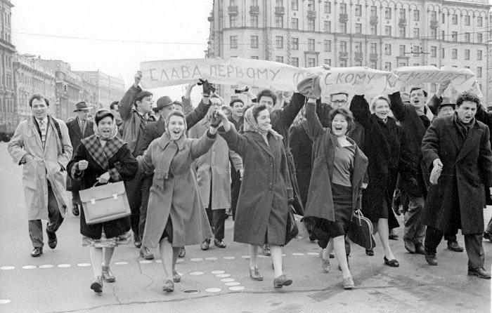 Картинки по запросу люди 12 апреля 1961 года