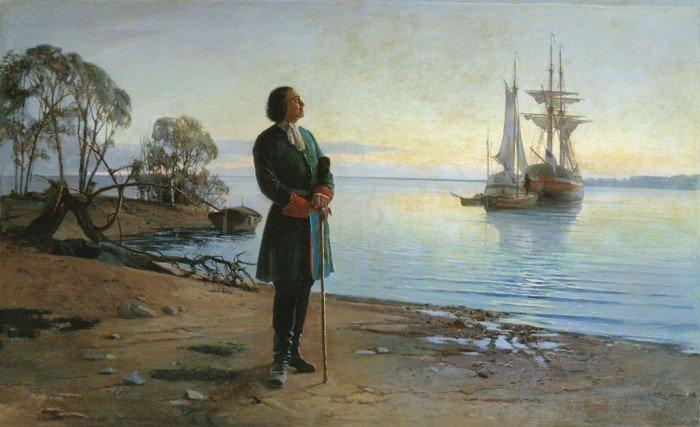 Петр I и флот