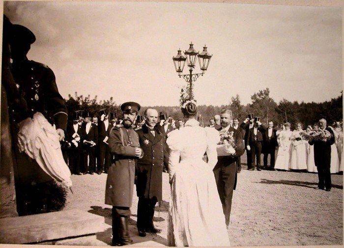 Николай II и императрица Александра Федоровна