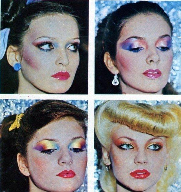макияж в ссср