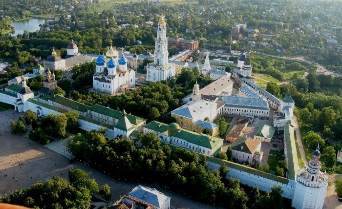Архитектурный ансамбль Троице-Сергиевой лавры