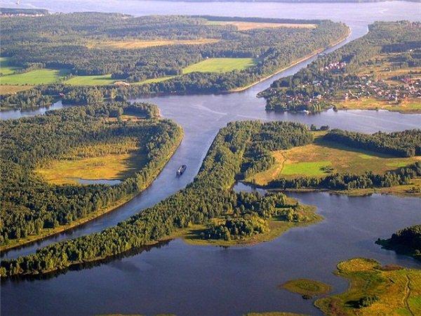 Московское море, Иваньковское водохранилище