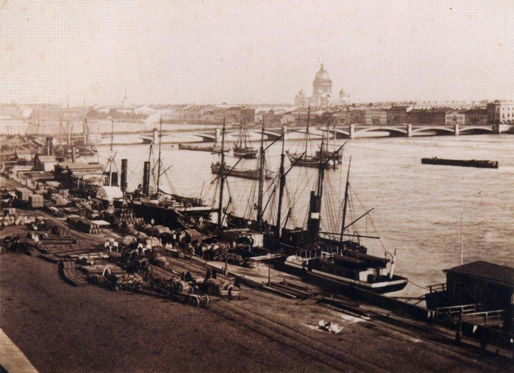 Николаевский мост,1860-70-е
