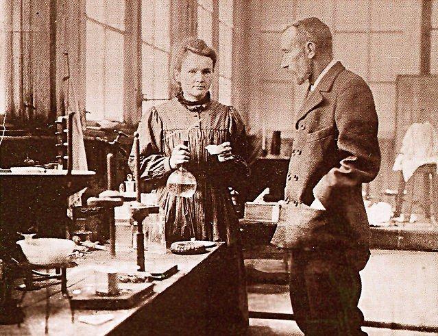 пьер кюри и мария склодовская кюри