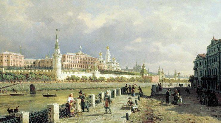 Картина Верещагина «Москва белокаменная»