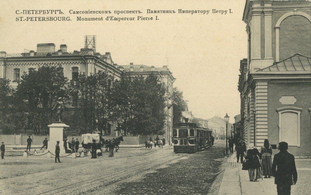 Самсониевский проспект. Памятник Петру I (2)
