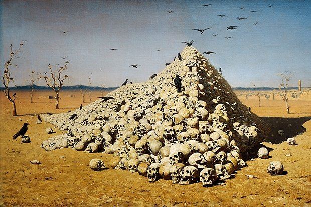 Василий Верещагин. «Апофеоз войны» (1871г.)
