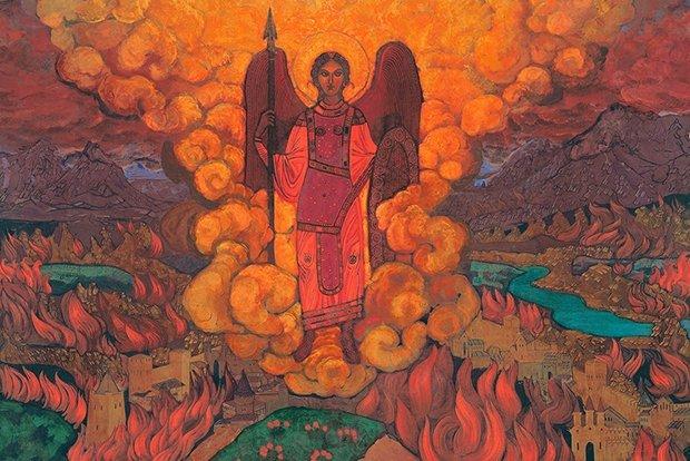 Николай Рерих. «Последний ангел» (1912г.)