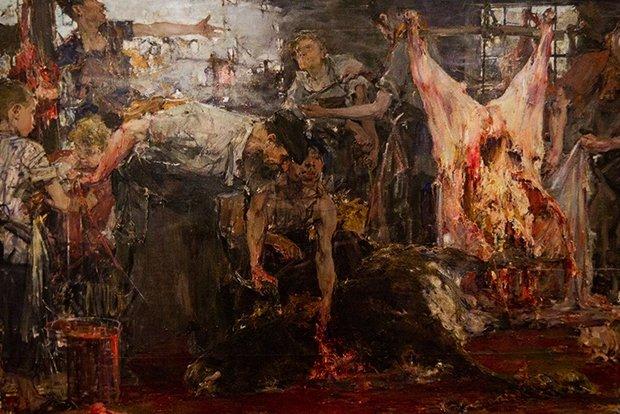 Николай Фешин. «Бойня» (1912—1919г.)