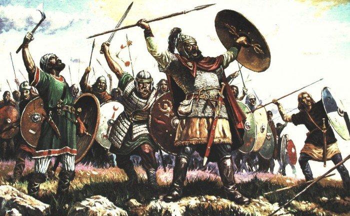 Взятие Крыма готами