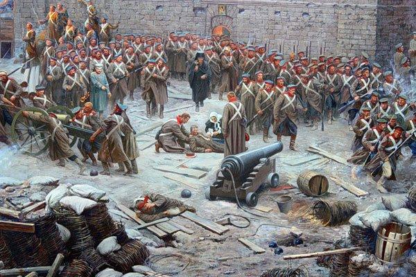 Оборона Севастополя, 1854-1855 годы.