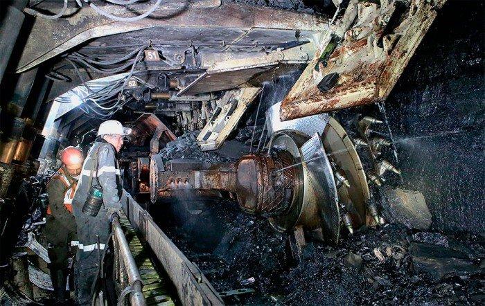 «Распадская» шахта