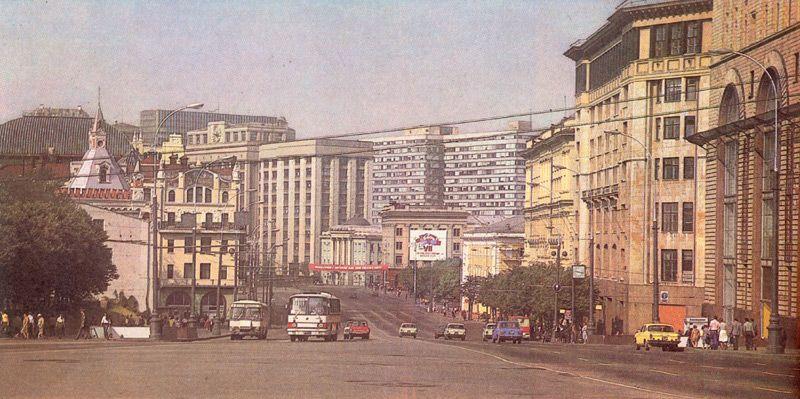 Полупустая Москва