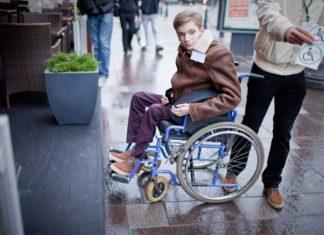 инвалиды - колясочники