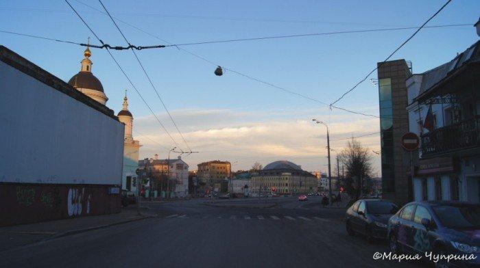 Храм Сергия Радонежского в Рогожской слободе.