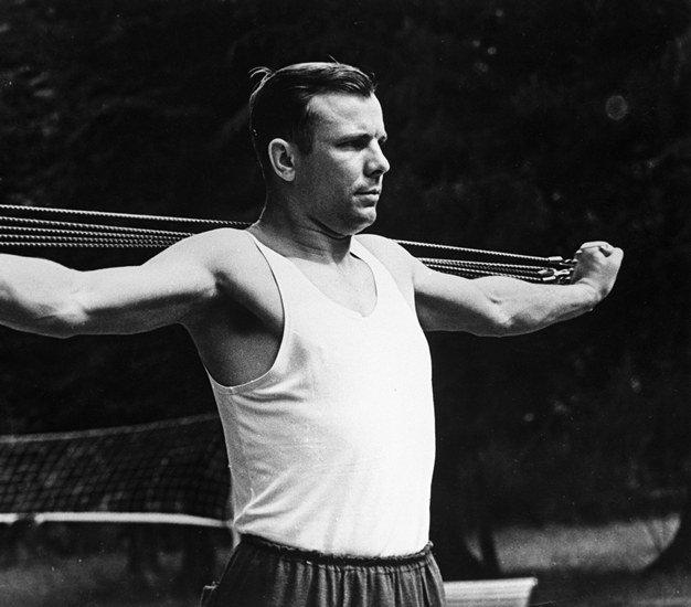 Юрий Гагарин и спорт