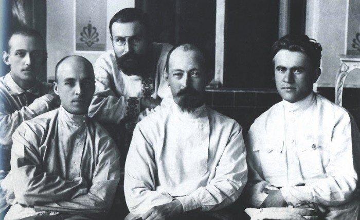 Дзержинский и чекисты