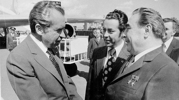 Никсон и Брежнев