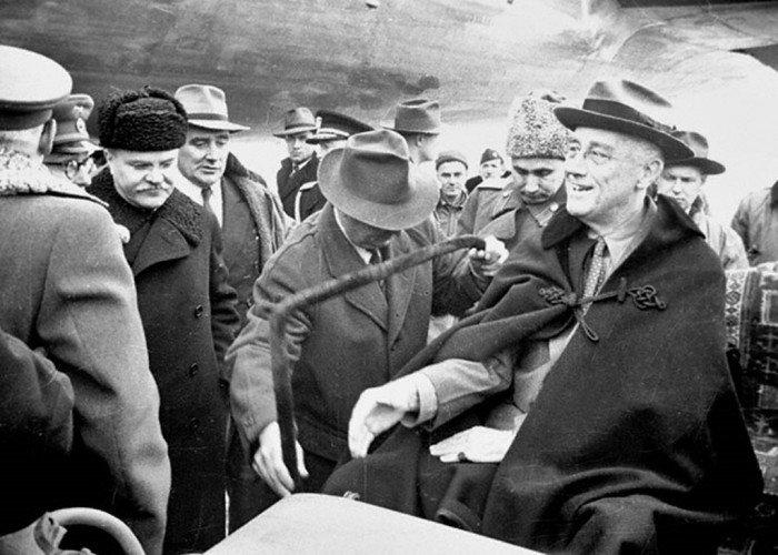Рузвельт и Молотов