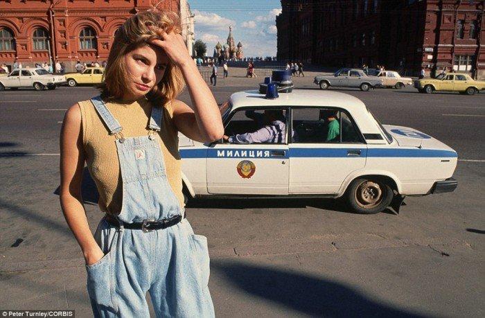 москва 90-ые
