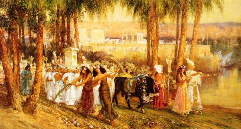 Новый год в древнем Египте