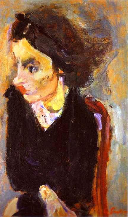 Хаим Сутин «Женщина в профиль