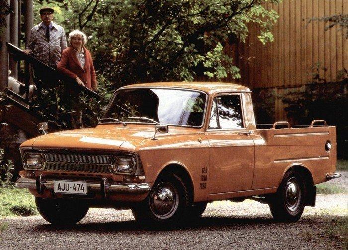 реклама советского авто