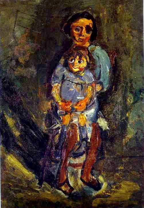Хаим Сутин «Мать и дитя»