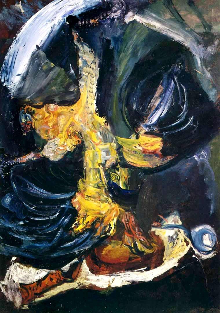 Хаим Сутин «Мертвая курица»
