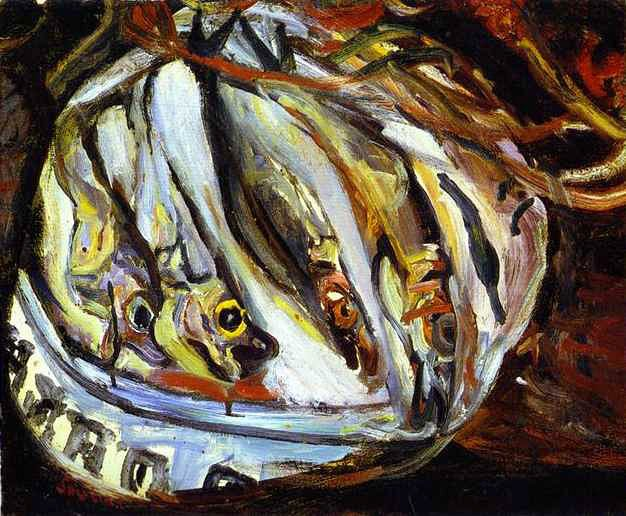 Хаим Сутин «Натюрморт с рыбой»