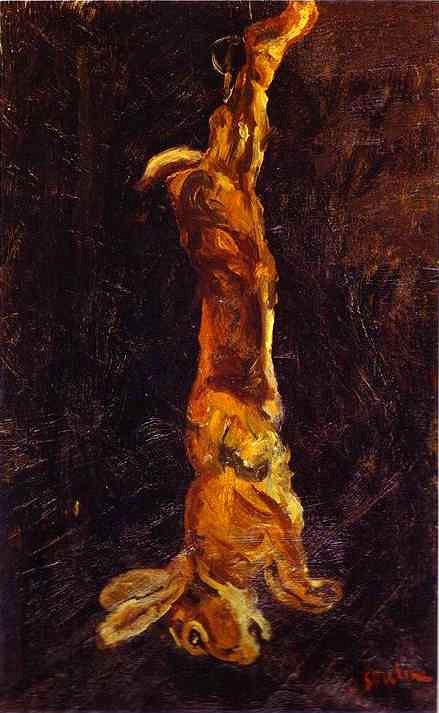 Хаим Сутин «Подвешенный заяц»