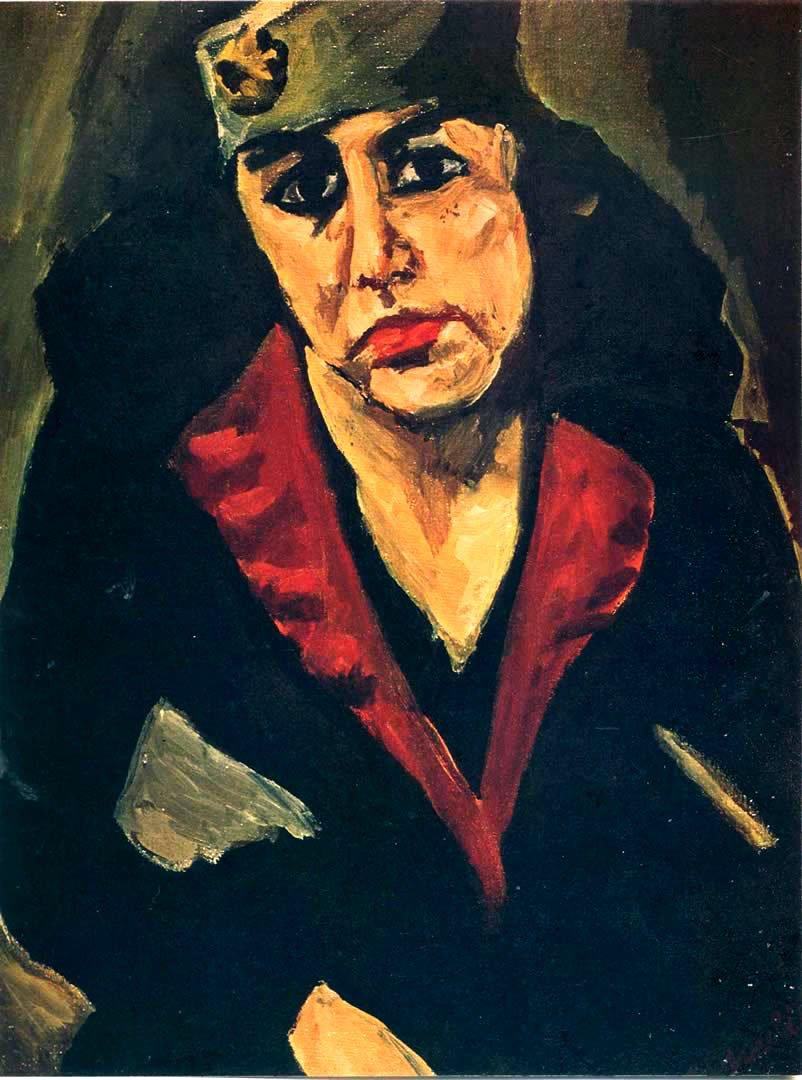 Хаим Сутин «Портрет женщины»